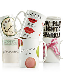 kate spade new york Novelty Mug Collection