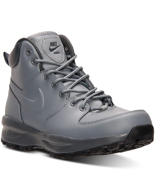 a64a3a06 Nike Men's Manoa Leather Boots from Finish Line & Reviews - Finish ...