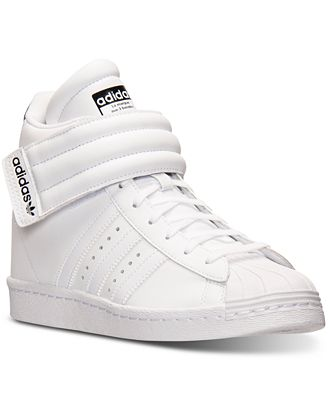 Negro Adidas Originals Q1 3 rayas superstar up Sneakers mujer