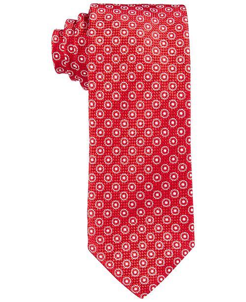Hugo Boss BOSS Small Circle Neat Skinny Tie