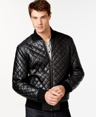 Levi's Diamond Quilted Bomber Jacket - Coats & Jackets - Men - Macy's
