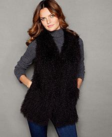 The Fur Vault Lamb Fur Vest