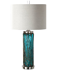 Uttermost Almanzora Glass Table Lamp