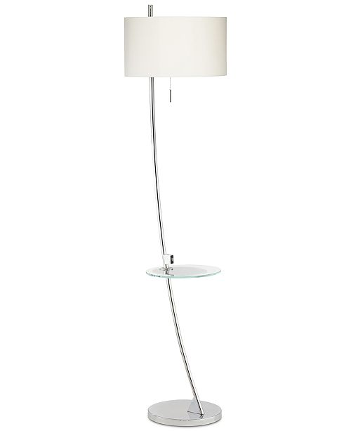 Floor Lamp With Usb And Tray Table