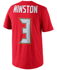 Nike Men's Jameis Winston Tampa Bay Buccaneers Pride Player T-Shirt