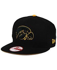 New Era Iowa Hawkeyes Core 9FIFTY Snapback Cap