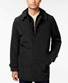 Kenneth Cole New York Raven Slim-Fit Raincoat