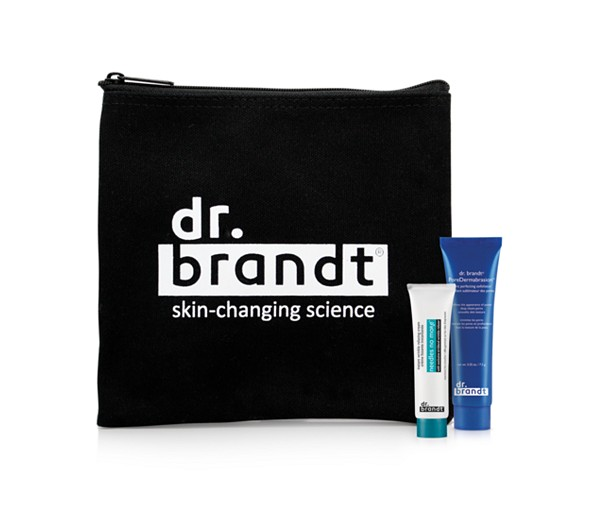 Receive your choice of 3-piece bonus gift with your $55 Dr Brandt purchase