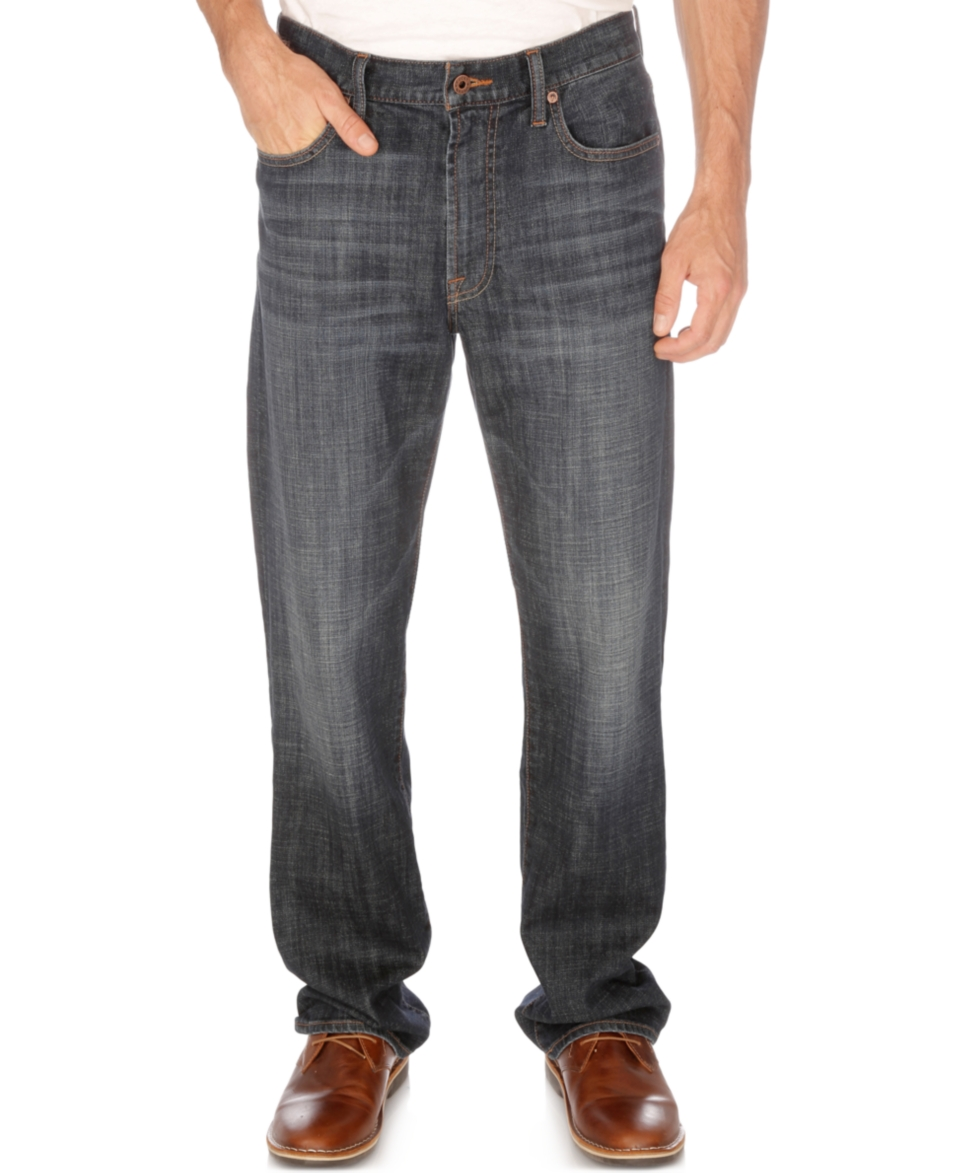 Lucky Brand 181 Relaxed Straight Jeans   Jeans   Men