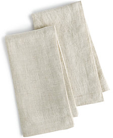 Hotel Collection Linen 2-Pc. Modern Natural Napkins, Created for Macy's