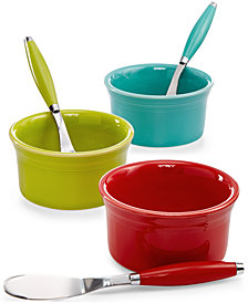 Fiesta Dip Bowl & Spreader Set