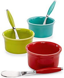 Fiesta 8 oz. Dip Bowl & Spreader Set