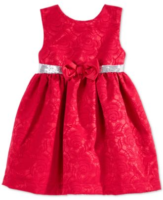 Penelope mack baby girls holiday dress kids amp baby macy s