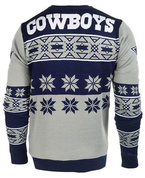 super popular 4d5e1 0cea4 Forever Collectibles Men's Dallas Cowboys Big Logo Christmas ...