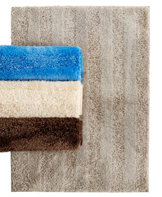 Charming Mohawk Home Luster Stripe Bath Rug Collection