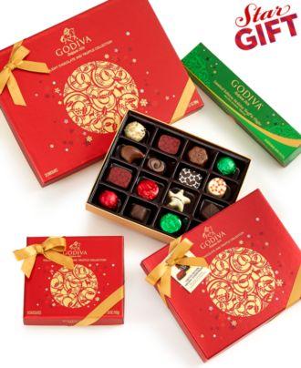 Godiva Holiday Truffle Collection