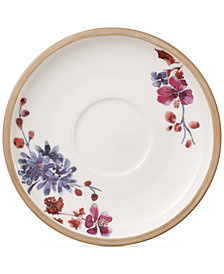 Villeroy & Boch Artesano Provencal Lavender Collection Porcelain Tea Cup Saucer