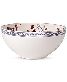 Villeroy & Boch Artesano Provencal Lavender Collection Porcelain Round Vegetable Bowl