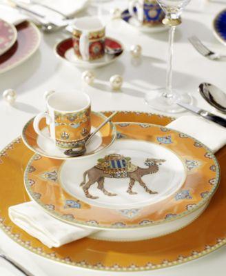 Samarkand Mandarin Collection Porcelain Salad Plate