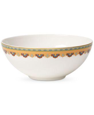 Samarkand Mandarin Collection Porcelain Fruit Dish