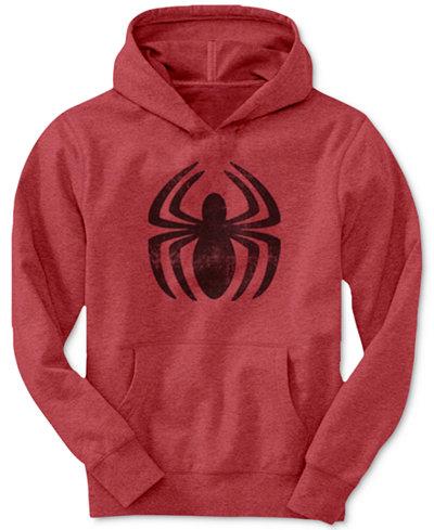 Spider Man Boys Spidey Crawl Pullover Hoodie Sweaters