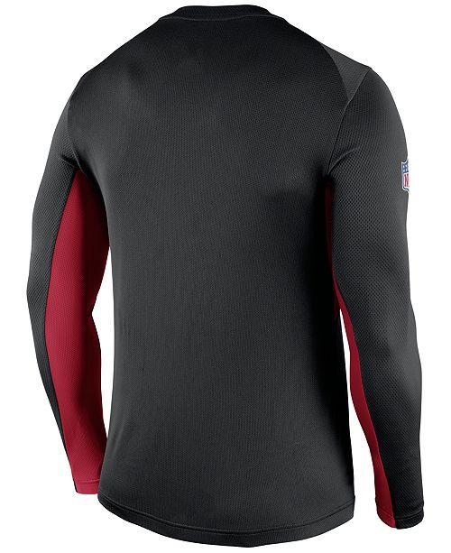 8e43880b Nike Men's Long-Sleeve Atlanta Falcons Vapor T-Shirt - Sports Fan ...
