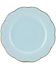 Marchesa by Lenox Dinnerware Ironstone Shades of Blue Dinner Plate