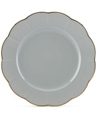 Dinnerware Ironstone Shades of Grey Dinner Plate
