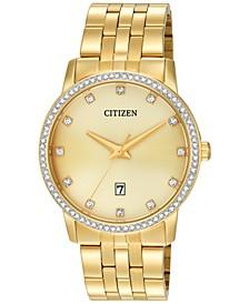 Men's Gold-Tone Stainless Steel Bracelet Watch 40mm BI5032-56P