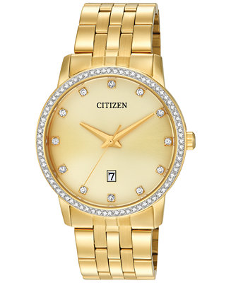 Citizen Men's Gold-Tone Stainless Steel Bracelet Watch