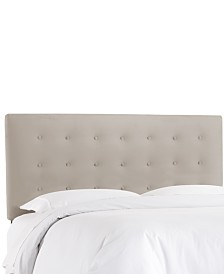 Hawthorne Full Button Headboard, Quick Ship