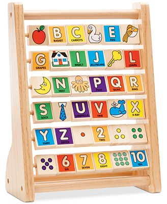 Melissa and Doug Kids' Alphabet Abacus