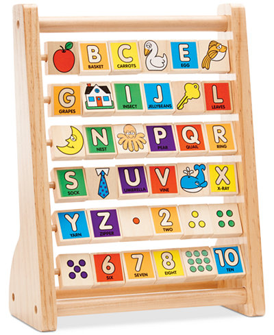Melissa and Doug Kids' Alphabet Abacus