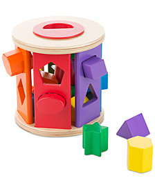 Melissa and Doug Kids' Drum Shape Sorter