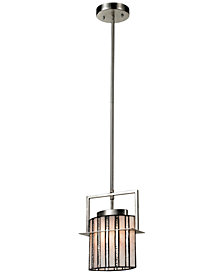 Dale Tiffany Hammond Mini Metal Pendant Light