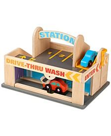 Kids' Service Station Parking Garage