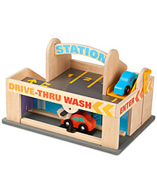 Melissa and Doug Kids' Service Station Parking Garage