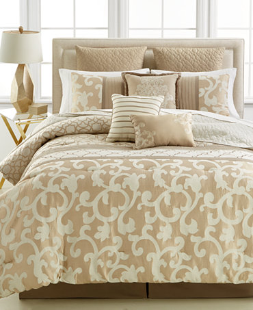 Parkview 10 Pc King Comforter Set Bed In A Bag Bed