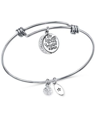 Unwritten To the Moon and Back Charm and Crystal