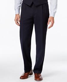 Lauren Ralph Lauren Solid Big and Tall Classic-Fit Dress Pants