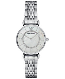 Emporio Armani Women's Stainless Steel Bracelet Watch 32mm AR1908