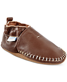 Robeez Classic Moccasin Shoes, Baby Boys