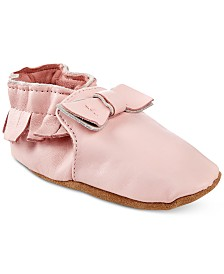 Robeez Moccasin Maggie Shoes, Baby Girls
