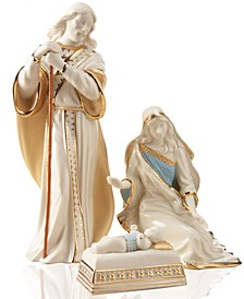First Blessing Nativity 3-piece Holy Family Figurine Set