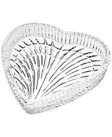 Godinger Serenade Heart Tray