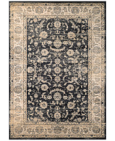 "CLOSEOUT! Couristan HARAZ HAR1142 Black 2' x 3'7"" Area Rug"