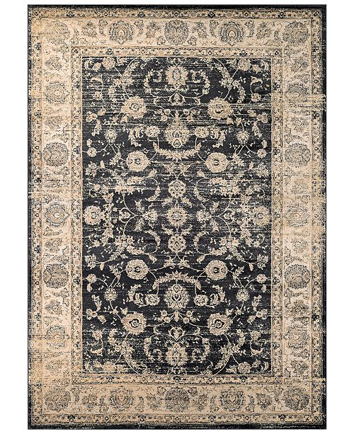 Couristan CLOSEOUT! HARAZ HAR1142 Black Area Rugs