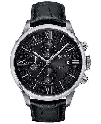 Tissot Men's Swiss Automatic Chronograph Chemin Des