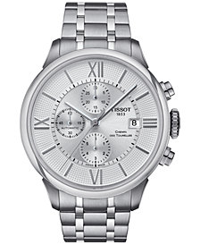 Tissot Men's Swiss Automatic Chronograph Chemin Des Tourelles Stainless Steel Bracelet Watch 44mm T0994271103800