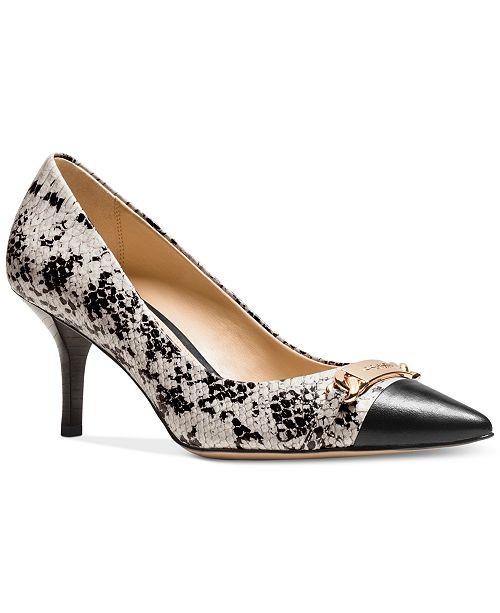 78d0932ec0c COACH Bowery Pointed-Toe Pumps   Reviews - Shoes - Macy s